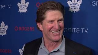 Maple Leafs Morning Skate: Mike Babcock - December 11, 2018