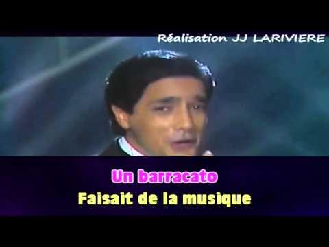 FREDERIC FRANCOIS   JE T'AIME A L'ITALIENNE I G - JJ Karaoké - Paroles