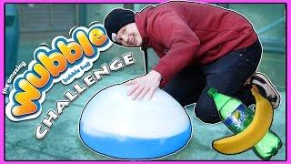 wubble bubble banana and sprite challenge