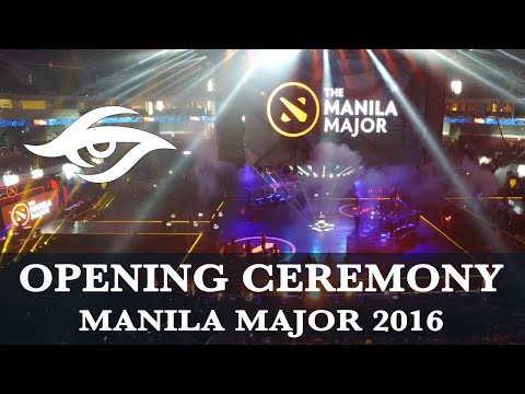 Dota 2 | Full Opening Ceremony! | Manila Major 2016