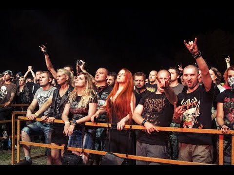 EVTHANAZIA  Humility  in METAL CROWD OPEN AIR FESTIVAL 2015