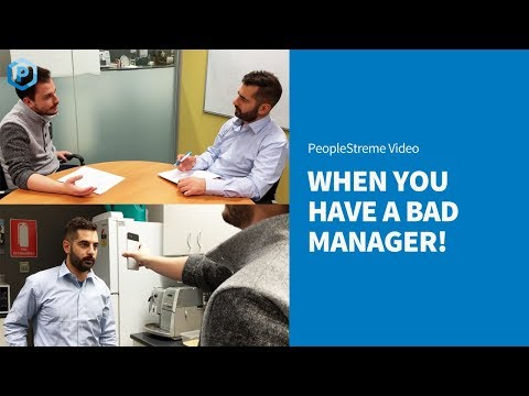 Dealing with a Bad Manager...