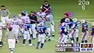 日産スカイライナーズ対オンワードオークス(1999年)アンスポーツマンライクコンタクトにより乱闘発生