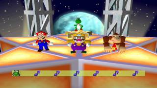 Mario Party 2 Mini Games - Move To The Music Dancing Star