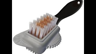 54039 4 way suede brush