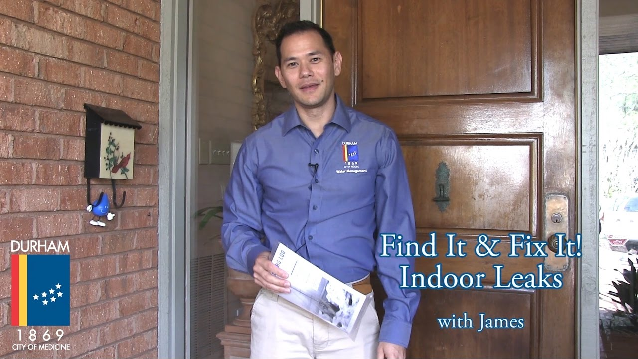 How To Find Fix Indoor Leaks Durham Water Management Youtube