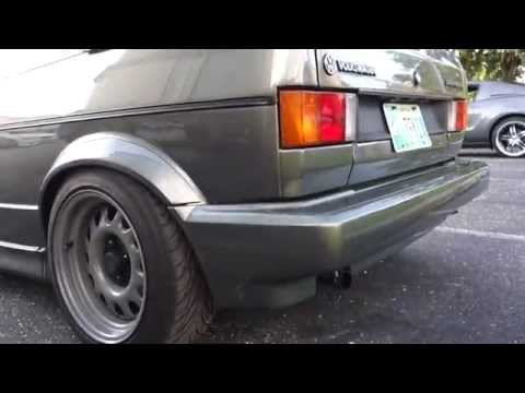 VW CABRIOLET : JAW-DROPPING RESTORATION : STANCED Cars and Coffee St.Petersburg