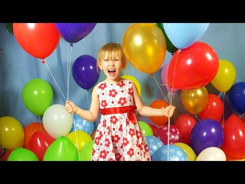 The Balloon Song for Learning Colors - Little Blue Globe Band