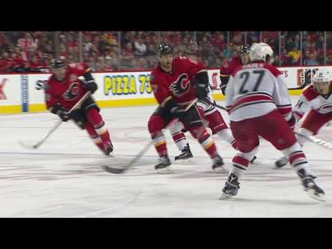 Carolina Hurricanes vs Calgary Flames | NHL | 20-OCT-2016