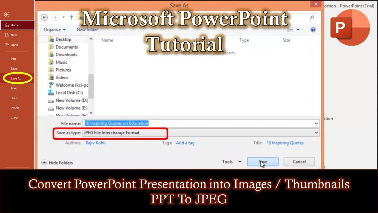 pdf file into powerpoint presentation