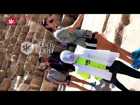 شاهد لاعبات منتخبات بطولة العالم الطائرة فى زيارة للأهرامات  - 17:56-2019 / 9 / 11