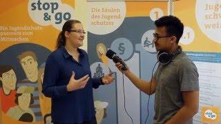 Jugendschutzparcours stop & go - Trailer