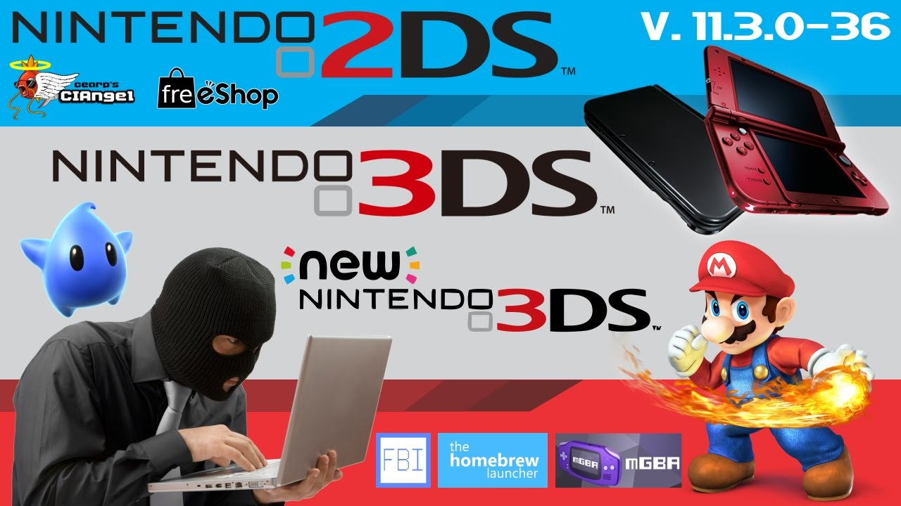 how to get freeshop with a homebrewed 3ds on 11.3