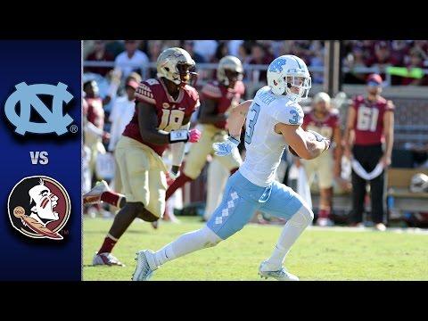 North Carolina vs. Florida State Football Highlights (2016)