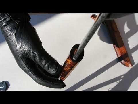 Якутский нож, м390 , айронвуд.