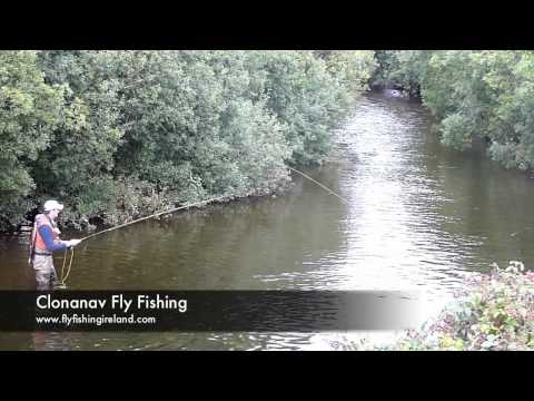 Fly Fishing For Trout On The River Nire - Ireland
