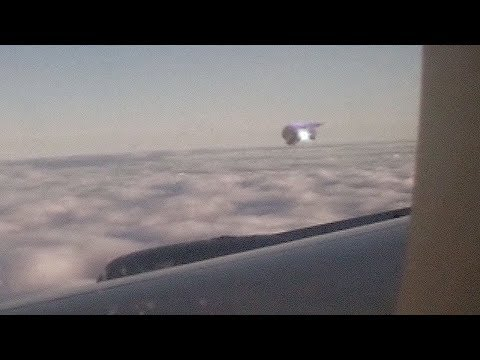 UFO in the sky of CHINA (CGI)