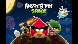 Angry Birds Space (PC) 3 Stars Livestream #1 - Cold Cuts part 2