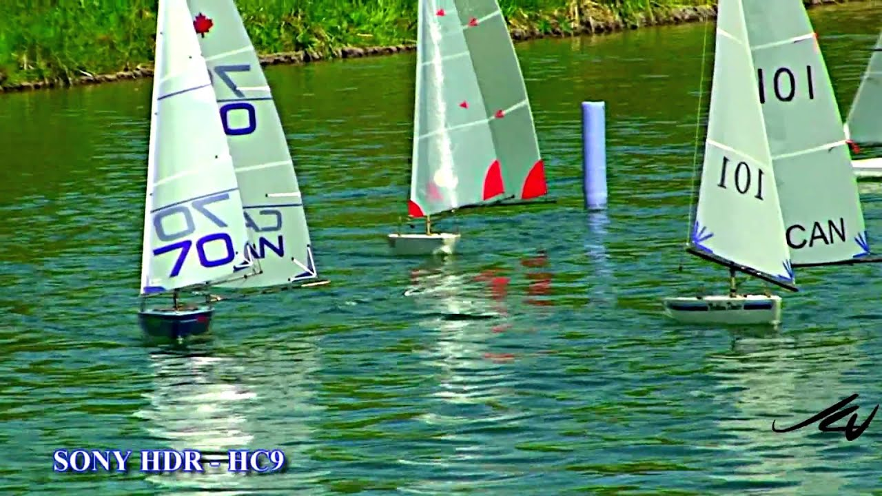 RC Sailboat Regatta (HD)