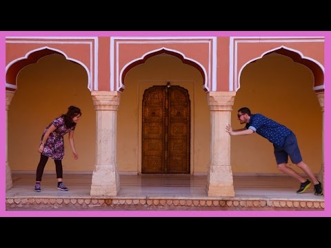 Walking tour of India's Jaipur Vlog | The Pink City | India Travel Vlog | Travowl Films