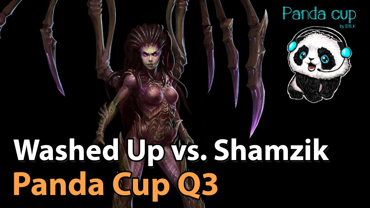 ► Team Shamzik vs. Washed Up - Panda Cup Q3 -  Heroes of the Storm Esports