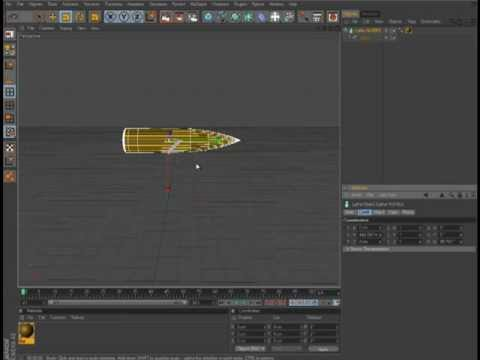 cinema 4d r12 how to model a bullet youtube. Black Bedroom Furniture Sets. Home Design Ideas