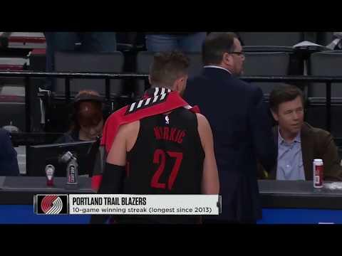 Miami Heat Vs Portland Trail Blazers Full Game Highlights