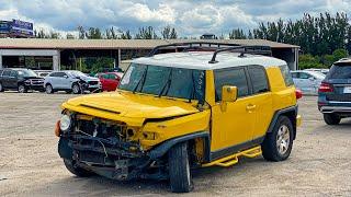 Аукцион Списанных, Угнанных и Разбитых Автомобилей в Америке 4К
