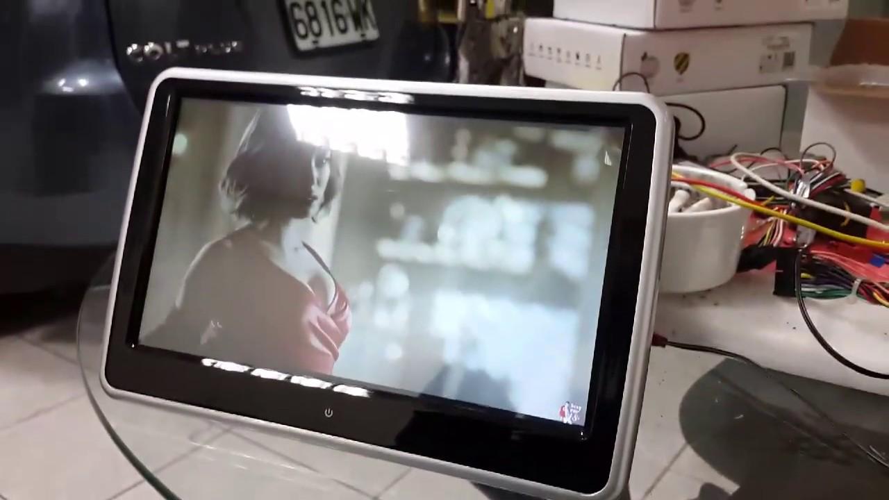 安卓系統頭枕螢幕 - YouTube