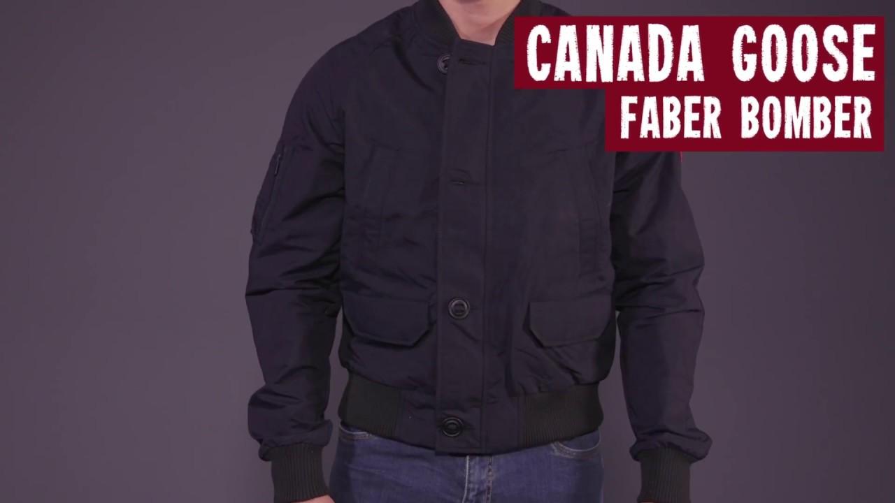 Canada Goose Faber Bomber Freizeitjacke Lichen   M