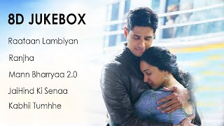 Shershaah 8D Songs   8D Jukebox   8D Collection Songs   3D Bollywood Songs   HQ
