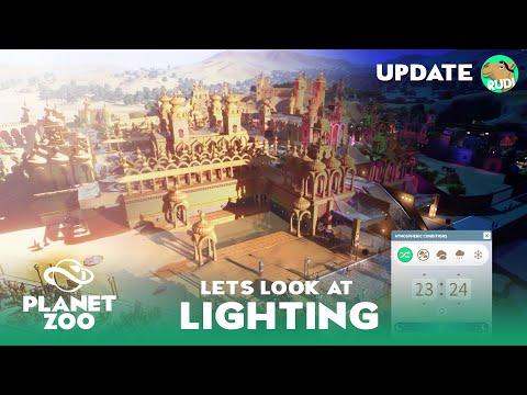 Lighting Demo - Planet Zoo Update  