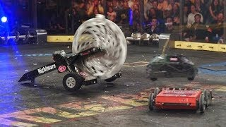 Chomp vs  Captain Shrederator   BattleBots