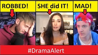 PewDiePie ROBBED! #DramaAlert Alinity did it AGAIN! Ninja FLAMED!