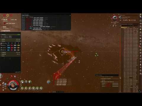 Paladin Tank Test against Blood Raider Shipyard - EVE Online