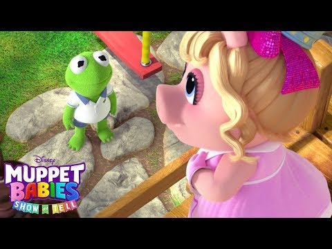 Kermit And Piggy's Show And Tell | Muppet Babies | Disney Junior
