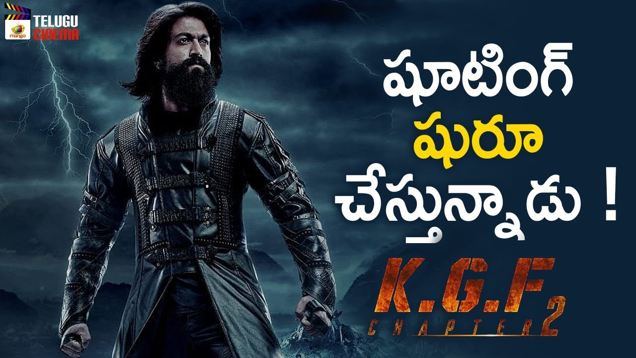 Kgf Chapter 2 Movie Shooting Update Hd Video Social News Xyz