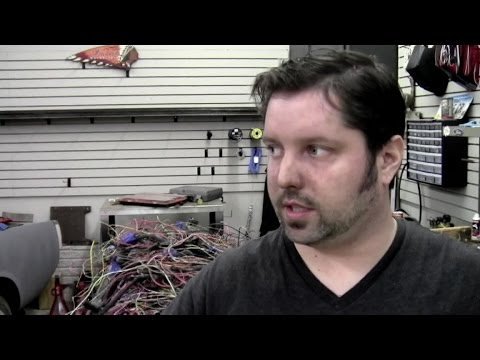 F100 to Crown Vic Frame Swap Ep.2 Wiring F Crown Vic Wiring Harness on