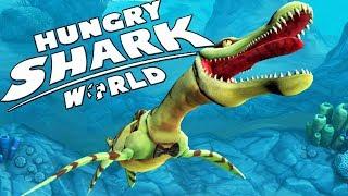 ДРЕВНИЙ ПЛИОЗАВР ЕСТ АКУЛ, ПРОХОЖДЕНИЕ ЗА ПЛИОЗАВРА   Hungry Shark World
