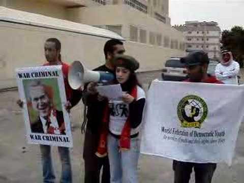 World Federation of Democratic Youth on Bush
