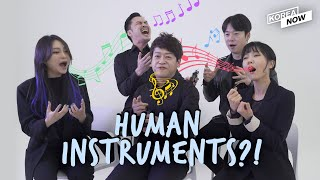 Korean a cappella group Maytree's perfect imitation of sounds (Earphones are a must!)