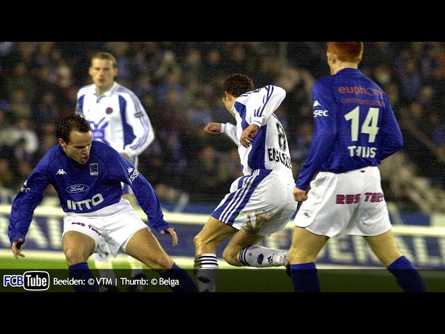 2001-2002 - Jupiler Pro League - 24. Racing Genk - Club Brugge 3-2