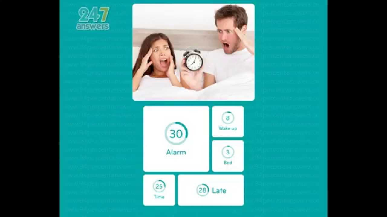 Alarm clock 94 percent answers youtube for Solution 94 niveau 2