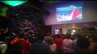 Cientos de panameños  disfrutan el partido #Panama vs Bolivia @eljosh1212