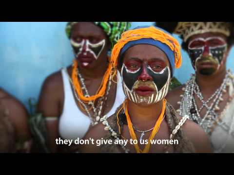 Women must do well in school to support themselves.  Papua New Guinea—thinkEQUAL