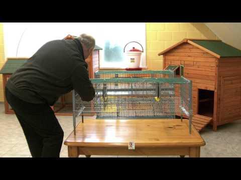 Cages cailles - Phase 3 - Assemblage - Art: VC62 et VC63