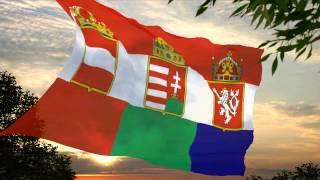 Flag and anthem of Austro-Hungary-Bohemia (by kyuzoaoi)