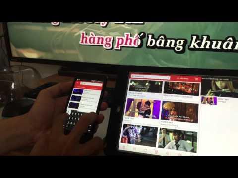 Ứng dụng Remote mới cho PC Karaoke