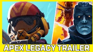 Ash Returns With Arenas! Reacting To Apex Legends - Legacy Launch Trailer