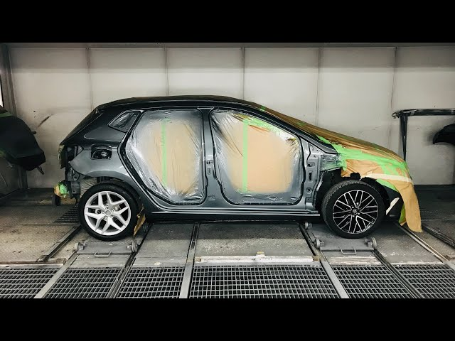 How prepare a car for paint - VLog115